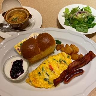 ロイホ朝食