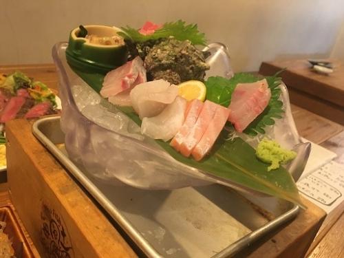 お魚が美味しい海風土