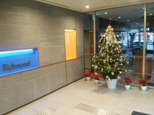 新幹線口クリスマス!