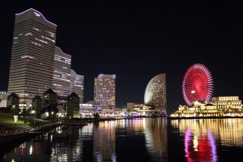 横浜_みなとみらい夜景_クイーンズスクエア横浜